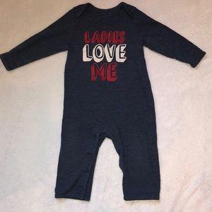"Old Navy ""Ladies Love Me"" Infant Bodysuit"